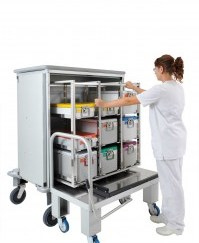 ALVI LAUNDRY TROLLEYS